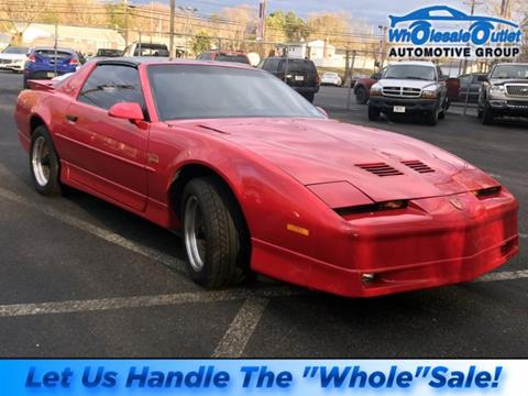1987 Pontiac Firebird for sale in Waterford Works, NJ