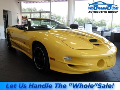 2002 Pontiac Firebird for sale in Waterford Works, NJ