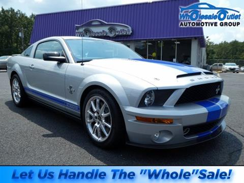 2008 Ford Shelby GT500 for sale in Waterford Works, NJ