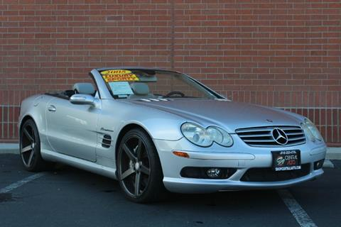 Used mercedes benz sl class for sale in sacramento ca for Used mercedes benz sacramento