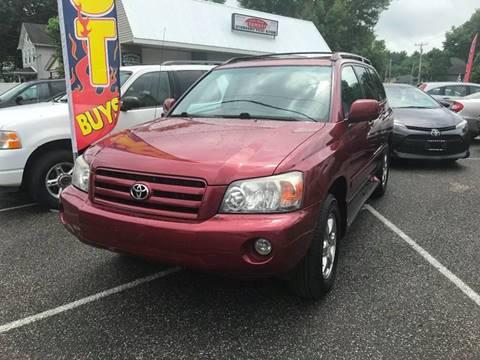 Toyota Kingston Ny >> 2006 Toyota Highlander For Sale In Kingston Ny