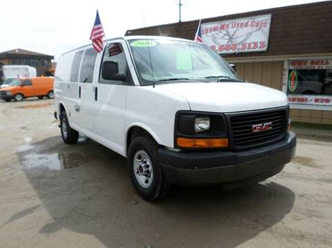 2010 GMC Savana Cargo for sale at Show Me Used Cars in Flint MI