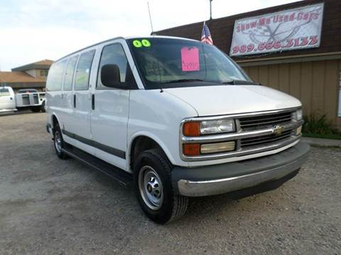 2000 Chevrolet Express Passenger for sale at Show Me Used Cars in Flint MI