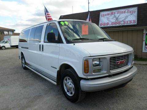 1999 GMC Savana Passenger for sale at Show Me Used Cars in Flint MI