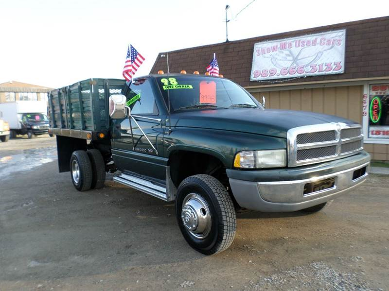 Used Tires Flint Mi >> 1998 Dodge Ram 3500 In Flint MI - Show Me Used Cars