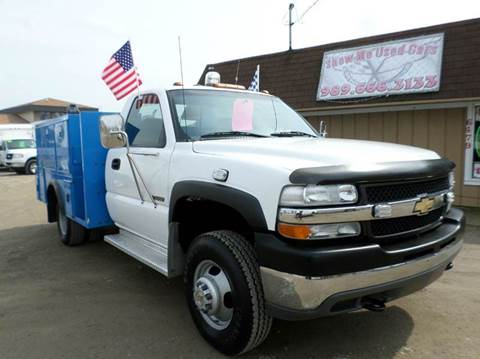 2001 Chevy Silverado 3500 DRW for sale at Show Me Used Cars in Flint MI