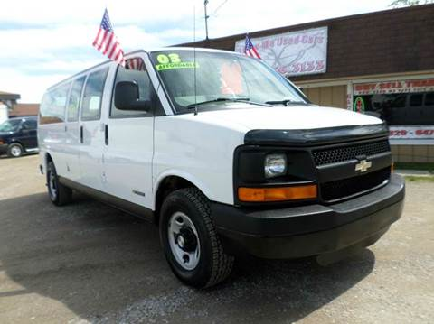 2003 Chevrolet Express Passenger for sale at Show Me Used Cars in Flint MI