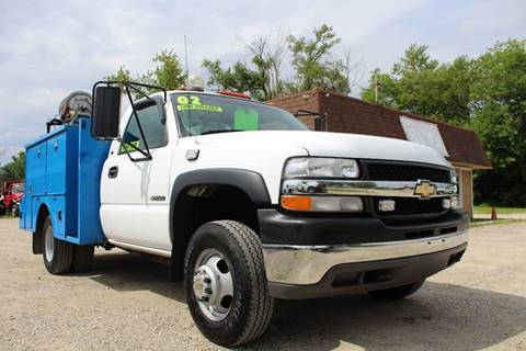 2002 Chevrolet Silverado 3500 for sale at Show Me Used Cars in Flint MI