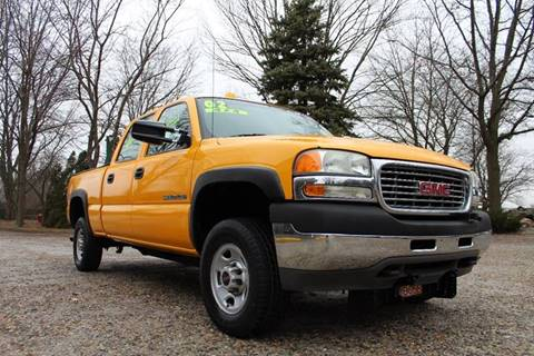 2002 GMC Sierra 2500HD for sale in Flint, MI