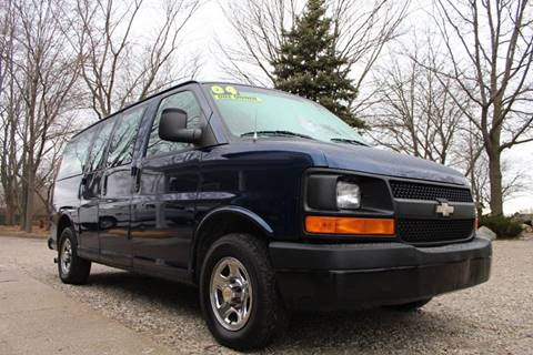 2004 Chevrolet Express Passenger For Sale Carsforsale
