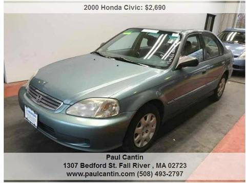 2000 Honda Civic for sale in Fall River, MA