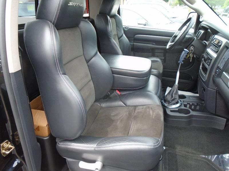 2004 Dodge Ram Pickup 1500 SRT-10 2dr Regular Cab Rwd SB - Traverse City MI