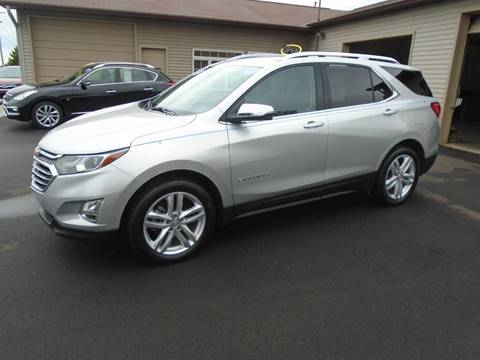 Chevy Equinox For Sale >> 2018 Chevrolet Equinox For Sale In Traverse City Mi