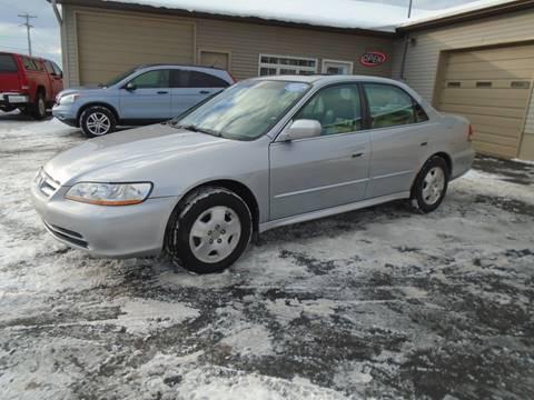 2001 Honda Accord for sale in Traverse City, MI