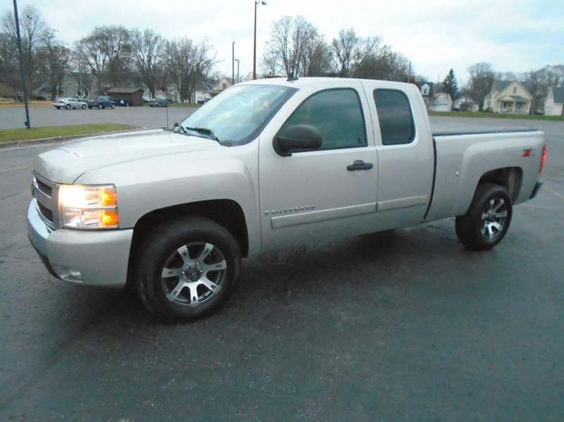 2008 chevrolet silverado 1500 lt1 4wd 4dr extended cab 6 5 ft sb in traverse city mi jack 39 s. Black Bedroom Furniture Sets. Home Design Ideas