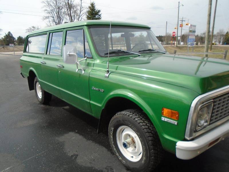 1972 Chevrolet Suburban Custom 10 - Traverse City MI