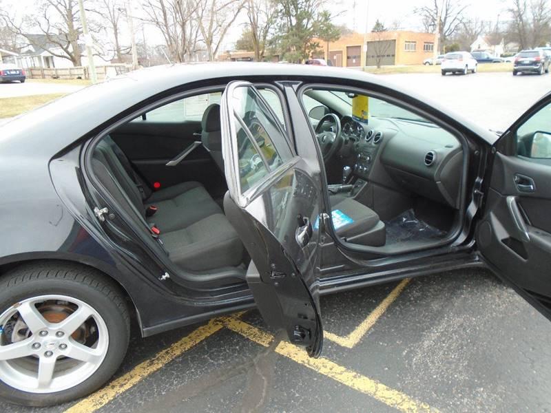2009 Pontiac G6 4dr Sedan w/1SA - Traverse City MI