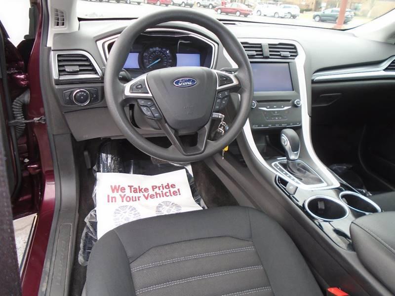 2013 Ford Fusion SE 4dr Sedan - Traverse City MI