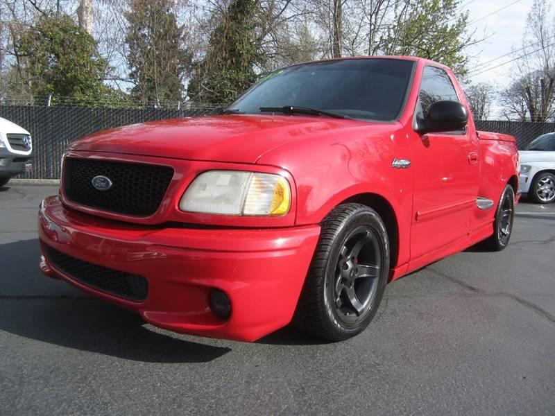Ford F  Svt Lightning Dr Supercharged Standard Cab Stepside Sb Salem Or