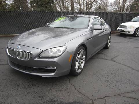 2012 BMW 6 Series for sale in Salem, OR