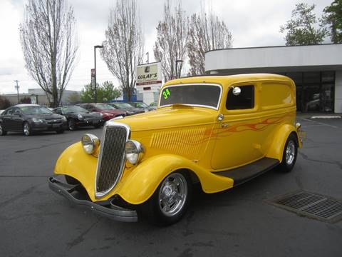 1934 Ford Panel Truck for sale in Salem, OR