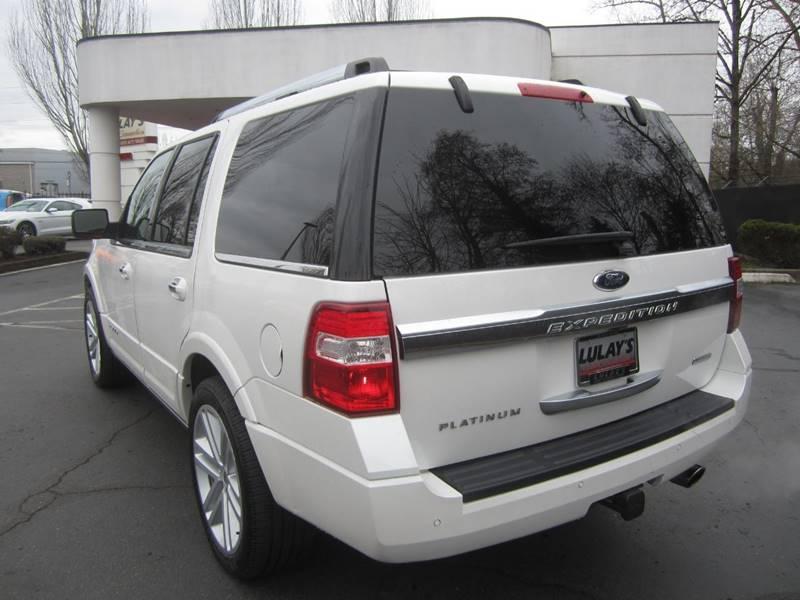 2016 Ford Expedition 4x4 Platinum 4dr SUV - Salem OR