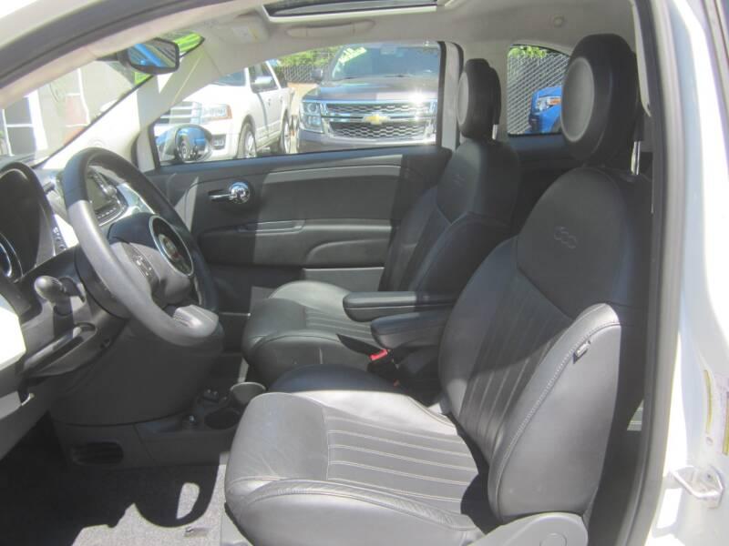 2018 FIAT 500 Lounge 2dr Hatchback - Salem OR