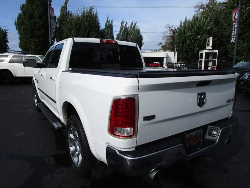 2013 RAM Ram Pickup 1500 4x4 Laramie 4dr Crew Cab 5.5 ft. SB Pickup - Salem OR