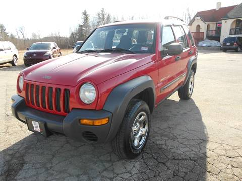 2002 Jeep Liberty for sale in Hampstead, NH
