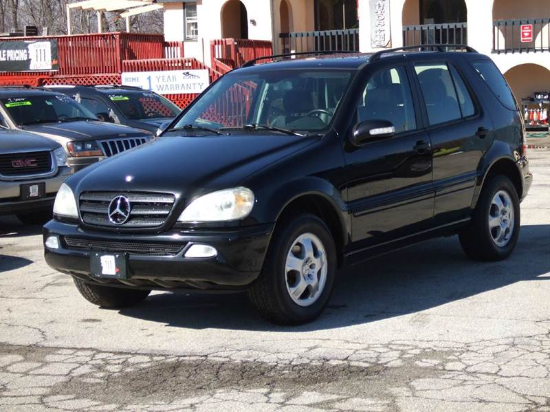 2002 mercedes benz m class awd ml320 4matic 4dr suv in for Mercedes benz ml320 2002