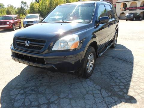 2004 Honda Pilot EX for sale at Route 111 Auto Sales in Hampstead NH
