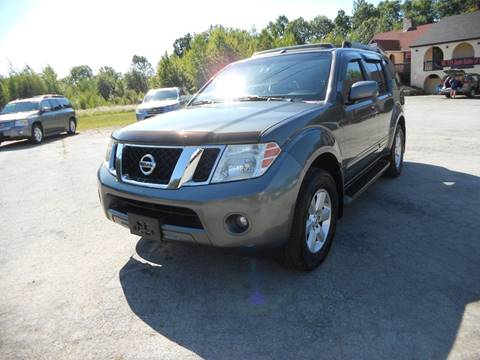 2008 Nissan Pathfinder S for sale at Route 111 Auto Sales in Hampstead NH