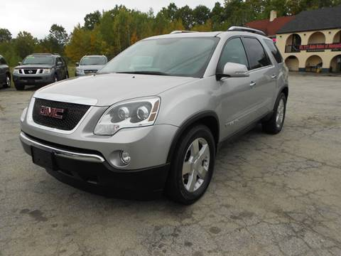 2008 GMC Acadia SLT-2 for sale at Route 111 Auto Sales in Hampstead NH