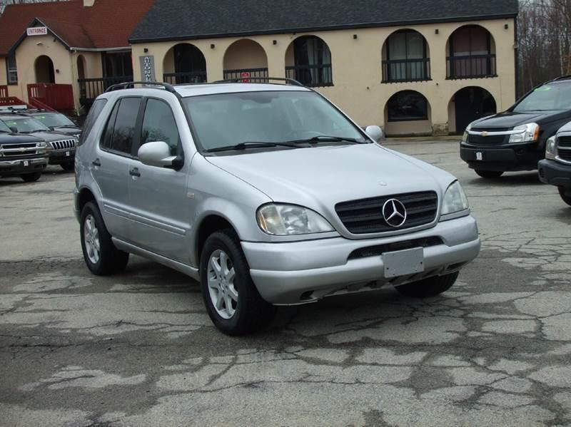 2000 mercedes benz m class awd ml430 4matic 4dr suv in for 2000 mercedes benz ml430