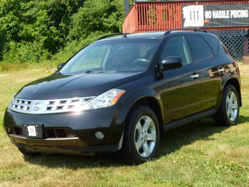 2004 nissan murano awd sl 4dr suv in hampstead nh route 111 auto sales. Black Bedroom Furniture Sets. Home Design Ideas