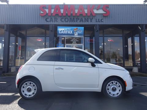 2015 FIAT 500 for sale in Salem, OR
