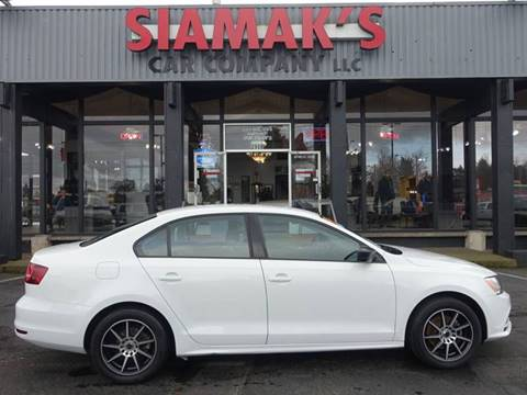 2016 Volkswagen Jetta for sale at Siamak's Car Company llc in Salem OR