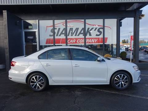 2017 Volkswagen Jetta for sale at Siamak's Car Company llc in Salem OR