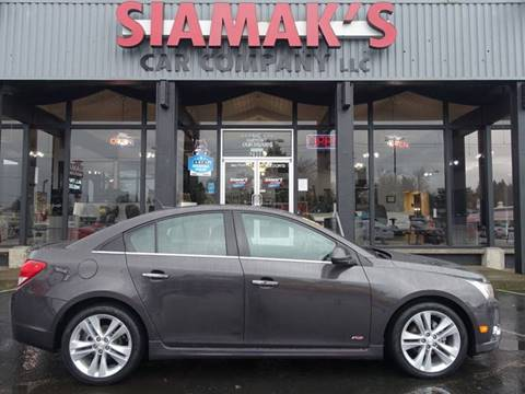 2014 Chevrolet Cruze for sale at Siamak's Car Company llc in Salem OR