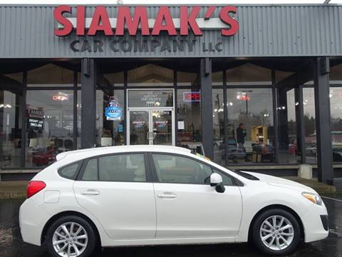 2014 Subaru Impreza for sale at Siamak's Car Company llc in Salem OR