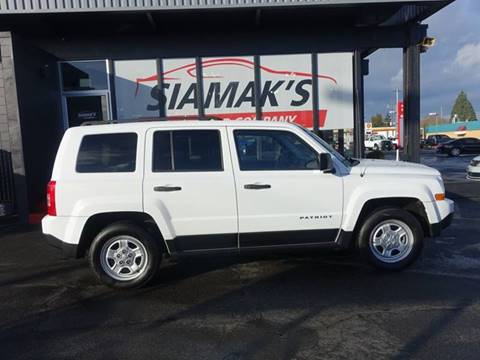 2013 Jeep Patriot for sale at Siamak's Car Company llc in Salem OR