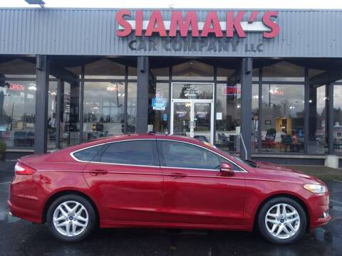 2015 Ford Fusion for sale at Siamak's Car Company llc in Salem OR