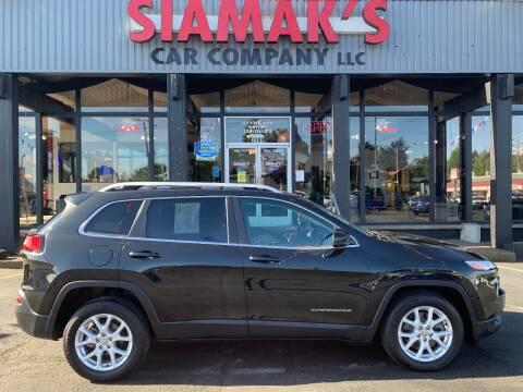 2015 Jeep Cherokee Latitude for sale at Siamak's Car Company llc in Salem OR