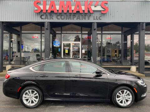 2016 Chrysler 200 Limited for sale at Siamak's Car Company llc in Salem OR