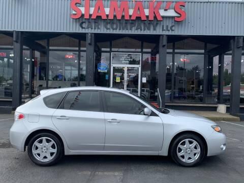 2010 Subaru Impreza 2.5i Premium for sale at Siamak's Car Company llc in Salem OR