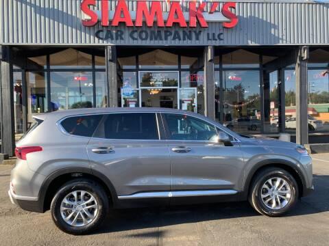 2019 Hyundai Santa Fe SE 2.4L for sale at Siamak's Car Company llc in Salem OR