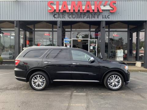 2015 Dodge Durango for sale at Siamak's Car Company llc in Salem OR