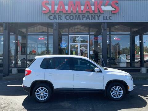 2011 Volkswagen Tiguan for sale at Siamak's Car Company llc in Salem OR