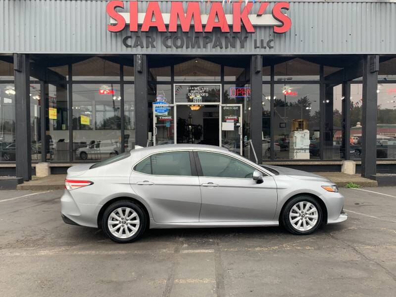 2019 Toyota Camry for sale at Siamak's Car Company llc in Salem OR