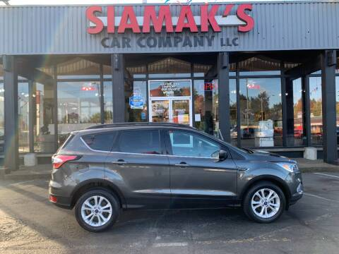 2018 Ford Escape for sale at Siamak's Car Company llc in Salem OR